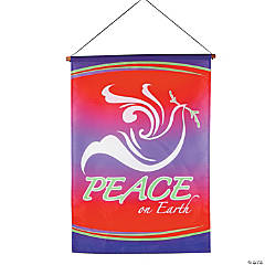 "Dove ""Peace on Earth"" Banner"