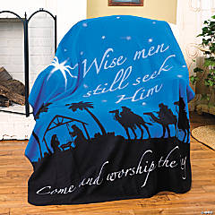 """Wise Men Still Seek Him"" Throw"
