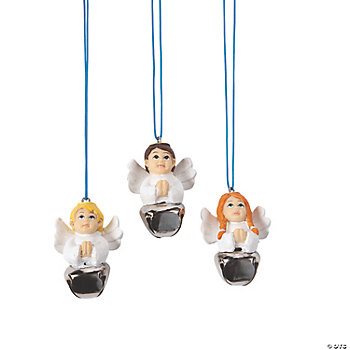 Angel Jingle Bell Necklaces