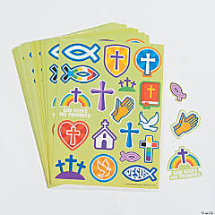 Religious Icons Sticker Sheets