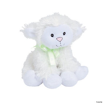 "Plush ""Jesus Loves Me"" Lamb"
