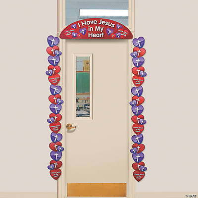 Inspirational Valentine Door Border