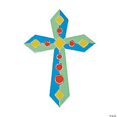Cross Sticker & Foil Activity