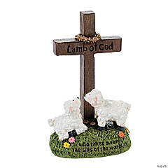 """Lamb of God"" Cross"