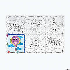 Up & Away Coloring Table Cover