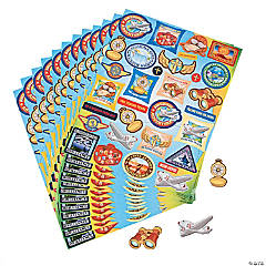 Awesome Adventure Sticker Sheets