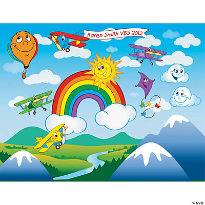 Up & Away Sticker Scenes