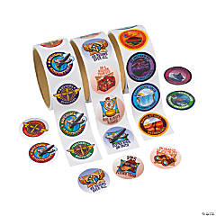Awesome Adventure Roll Sticker Assortment