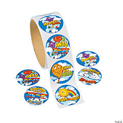 Up & Away Roll Stickers