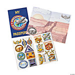 Awesome Adventure Passport Sticker Books