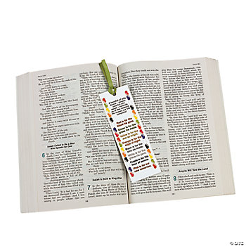 Jelly Bean Prayer Bookmarks