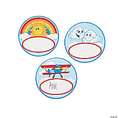 Up & Away Name Buttons