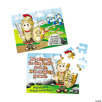 """Armor of God"" Puzzles - Oriental Trading - Discontinued"