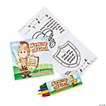 """Armor of God"" Activity Books with Crayons"