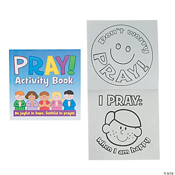 """Pray"" Religious Activity Book"