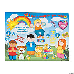 Make-A-Prayer Sticker Scenes