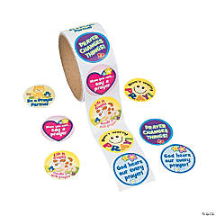 Prayer Roll Stickers