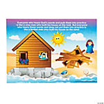Wise & Foolish Builder Sticker Scenes