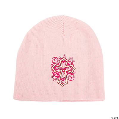 Religious Knit Caps - Tween Girl