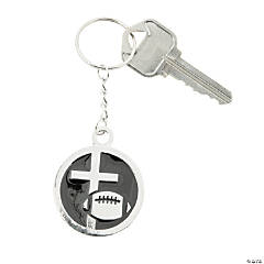Football Christian Athlete Key Chains