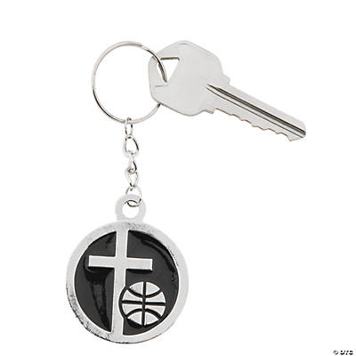 Basketball Christian Athlete Key Chains