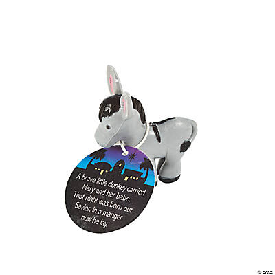 Legend of the Donkey Figurines with Card
