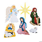 Nativity Believe Cutouts
