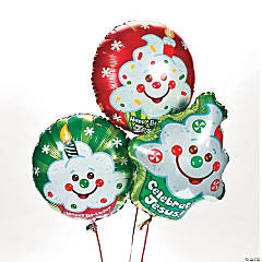 """Happy Birthday Jesus!"" Mylar Balloons"