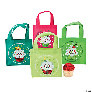 """Happy Birthday Jesus!"" Cupcake Totes"