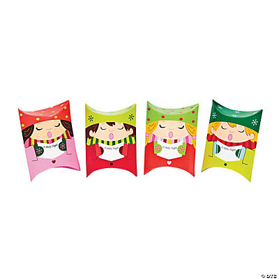 Holiday Carolers Pillow Boxes