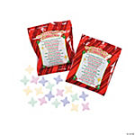 """The Legend Of The M In Christmas"" Candy Fun Packs"