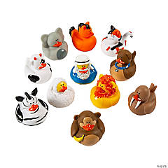 Vinyl Noah's Ark Rubber Duckies