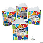 Wisdom, Mercy, Love, Faith Gift Bags