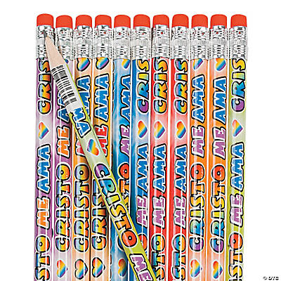 "Spanish ""Jesus Loves Me"" Pencils"