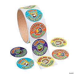 """Jungle Journey"" Roll Stickers"