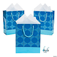 Medium Inspirational Snowflake Gift Bags