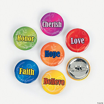 Inspirational Mini Buttons