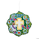 Wreath of Jesus' Life Sticker Scenes