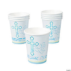 Blue Faithful Dove Cups