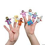 """He Lives!"" Finger Puppets"