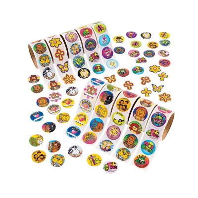 Religious Sticker rolls bundle