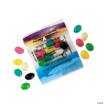 """Colors Of Faith"" Jelly Bean Treat Packets"