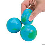 """He's Got The Whole World"" Relaxable Squeeze Balls"