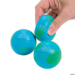"""He's Got the Whole World"" Stress Balls"