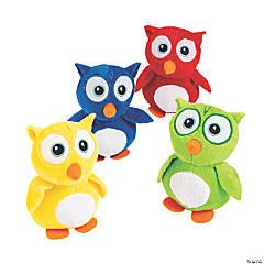 12 Plush Owls