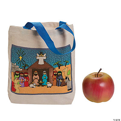 Nativity Tote Bags