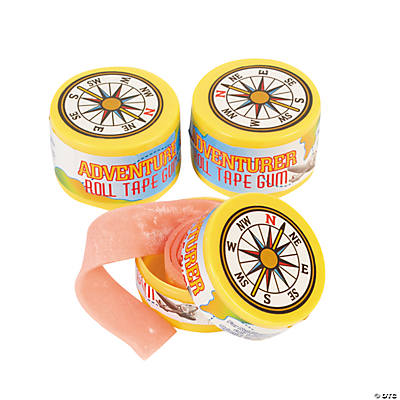 Awesome Adventure Roll Tape Gum