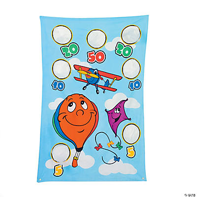 Up & Away Bean Bag Toss Game