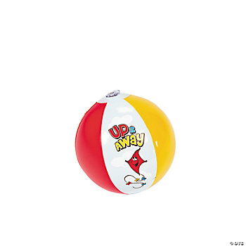 Inflatable Up & Away Mini Beach Balls