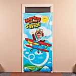 Up & Away Photo Door Banner